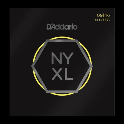D'Addario NYXL Super Light Top/Regular Bottom 09-46 Nickel Wound Electric Guitar Strings