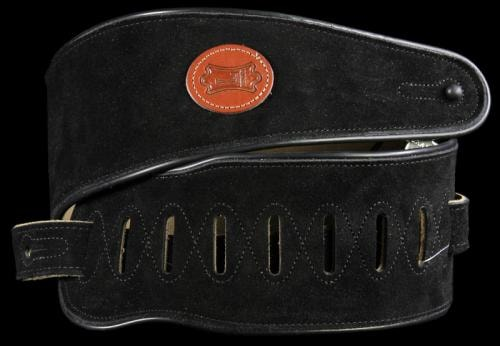 Levy's MSS3 Soft Suede Guitar Strap Black