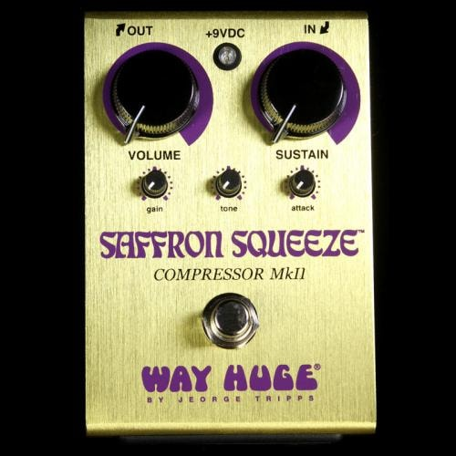 Way Huge Saffron Squeeze Compressor Electric Guitar Effects Pedal