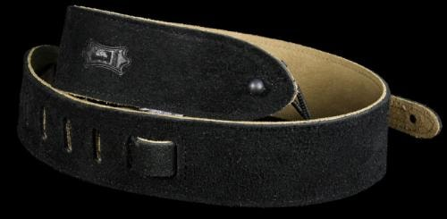 Levy's MS12 Soft Suede Guitar Strap Black