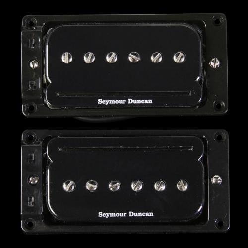 Seymour Duncan SHPR-1s P-Rails Pickup Set For LP Black