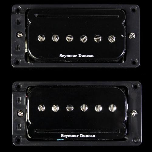 Seymour Duncan SHPR-1s P-Rails Pickup Set Black