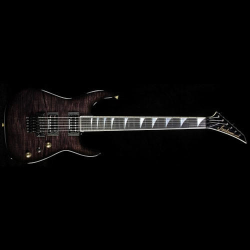 Jackson Custom Shop Exclusive SL2H-V Soloist Electric Guitar Transparent Black