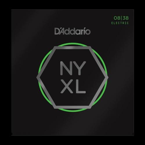 D'Addario NYXL Extra Super Light 08-38 Nickel Wound Electric Guitar Strings