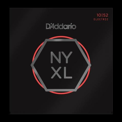 D'Addario NYXL Light Top/Heavy Bottom 10-52 Nickel Wound Electric Guitar Strings