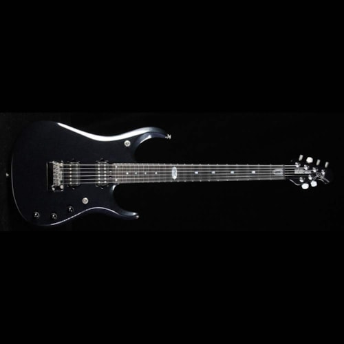 2011 ERNIE BALL MUSIC MAN Used 2011 Ernie Ball Music Man Ball Family Reserve John Petrucci JPXI-6 Electric Guitar Onyx