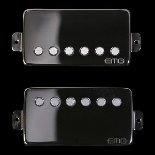 EMG JH HET Set James Hetfield Signature Humbucker Pickup Set Diamond-Like Carbon