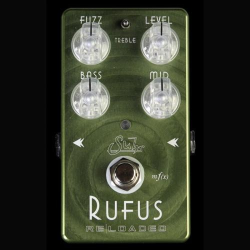 Suhr Rufus Reloaded Fuzz Electric Guitar Effects Pedal