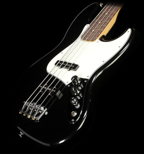 Fender® Used Used Fender® Standard Jazz Bass® Electric Bass Guitar Black