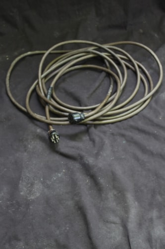 ~1960 LESLIE 30ft 6 pin connector cable