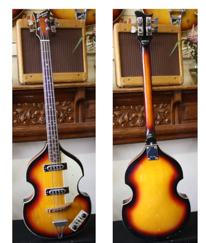 ~1975 Univox Custom Beatle Bass