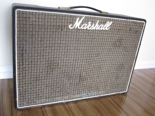 1975 VINTAGE MARSHALL 50W LEAD & BASS 2x12 COMBO