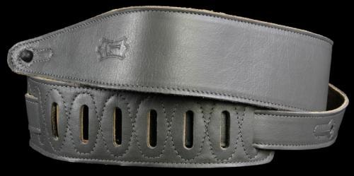 Levy's MG317LL Soft Garment Leather Guitar Strap Gray