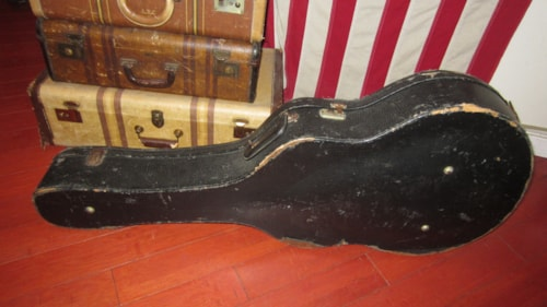 "~1956 Gibson 17"" Archtop Guitar Case"