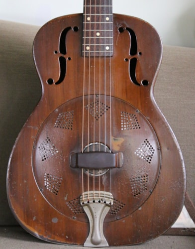 "1937 National ""piano finish"" Duolian"