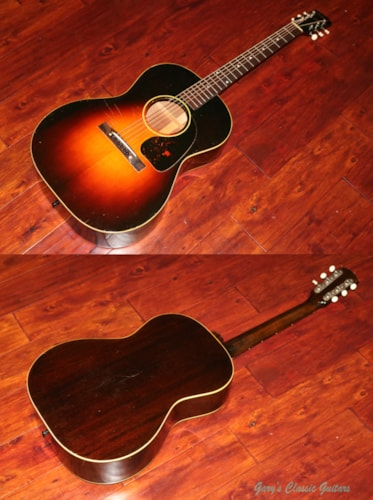 1944 Gibson Banner LG-2, Spruce top  (#GIA0655)