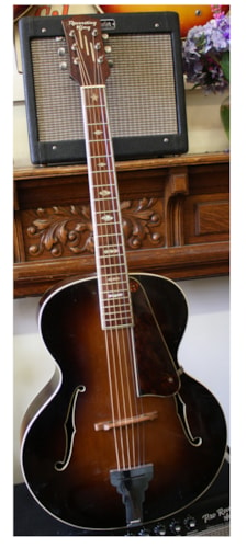 ~1940 Regal Recording King Archtop