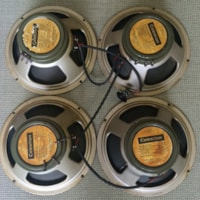 1967 Celestion 20W Speakers with original wiring loom