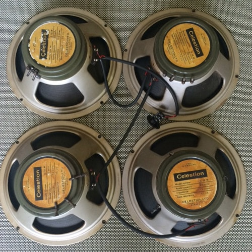 ~1967 Celestion 20W Speakers with original wiring loom
