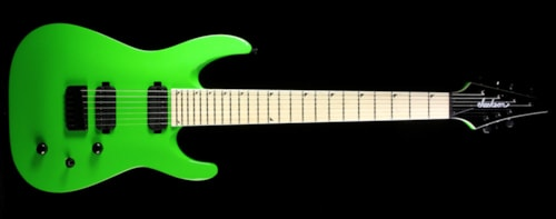 Jackson Used Jackson SLATX-M 3-7 Electric Guitar Slime Green
