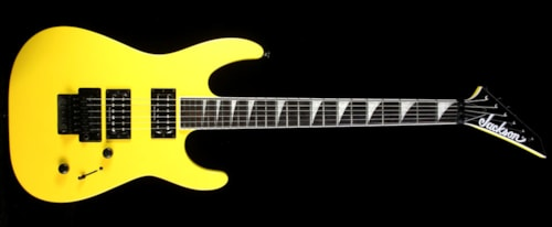Jackson SLX Electric Guitar Taxi Cab Yellow
