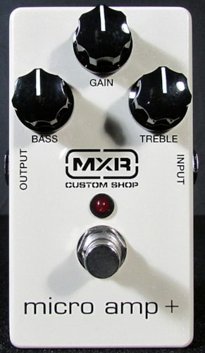 2015 MXR Custom Shop Micro Amp +