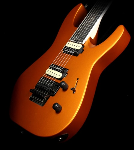 Jackson Used Jackson Pro Dinky DK2 Electric Guitars Satin Orange Blaze