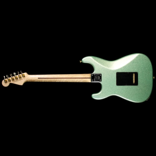 Charvel Custom Shop Nitro San Dimas Electric Guitar Seafoam Sparkle with Platinum Overspray