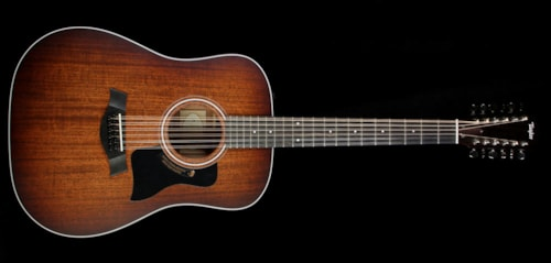 Taylor 360e Special Edition 12-String Dreadnought Acoustic/Electric Guitar Shaded Edgeburst
