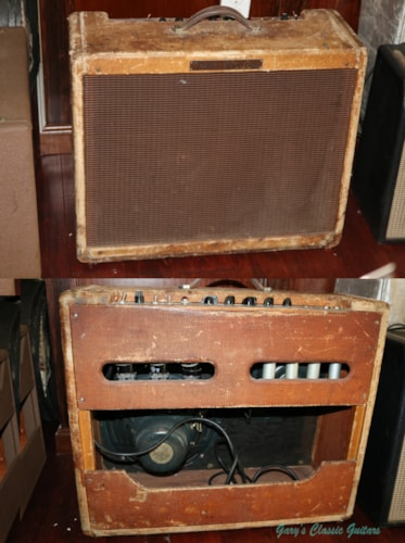 1957 Fender® Twin model 5E8  (#FAM0027)
