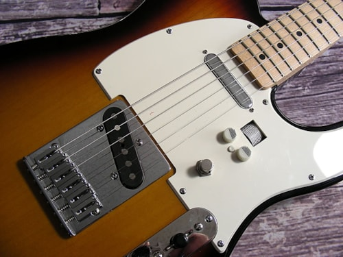 2006 Fender® Standard Telecaster® Neck on a 50s Tele® FSR body with Built In Hotone Whip Distortion Box