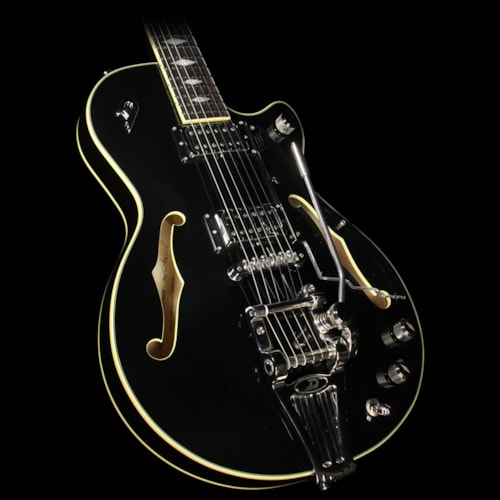 Duesenberg Starplayer TV Deluxe Semi-Hollowbody Electric Guitar Black