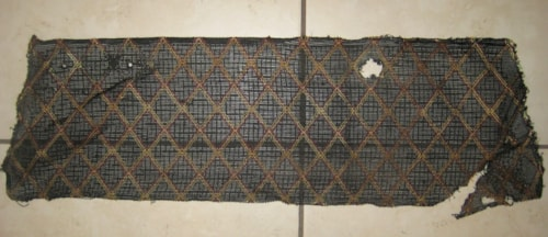 Vox 1960's JMI Trap Head Grill Cloth Black Diamond 23 inches X 7