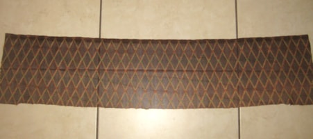 Vox Reissue Grill Cloth Brown Diamond 36 inches X 8 in