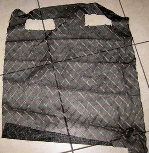 Vox 1960's Grill Cloth Black Diamond 25 inches X 28 inches