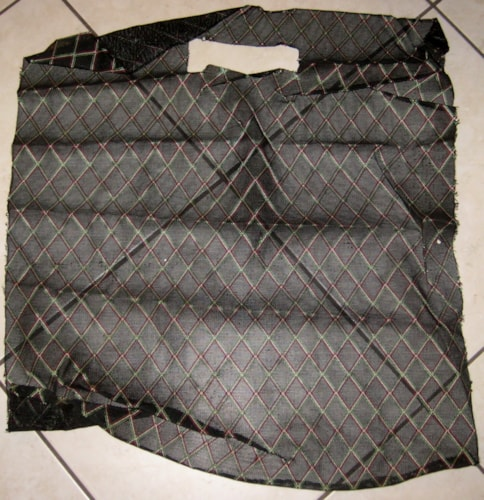 Vox 1960's Grill Cloth Black Diamond 24.5 inches X 27 inches