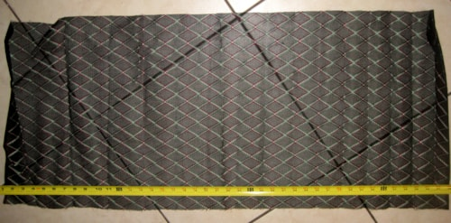 Vox Reissue Grill Cloth Black Diamond 17 inches X 42 inches