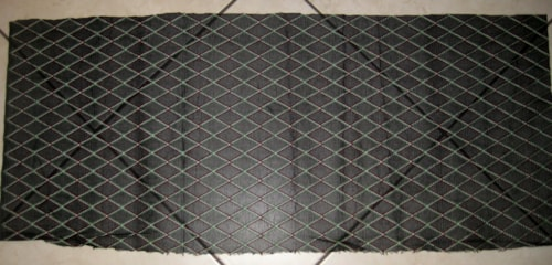 Vox Reissue Grill Cloth Black Diamond 14.5 inches X 36 inches