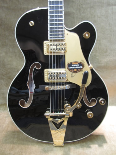 2015 Gretsch G6139 BLK-LTD Black Falcon Center Block