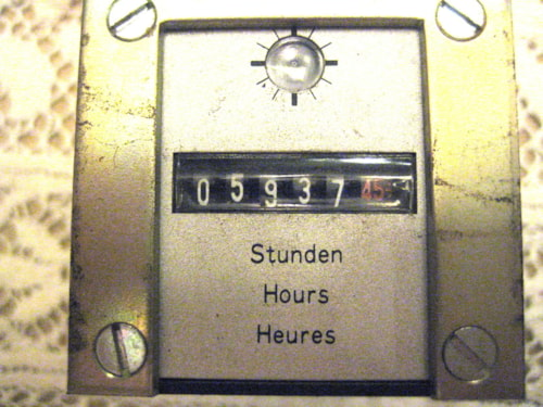 Studer A-80 Tape Recorder 24 Clock Counter
