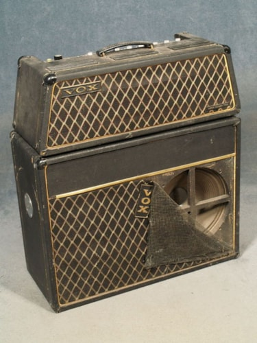 1960 Vox BUCKINGHAM V112 HEAD AND V412 SPEAKER CABINET