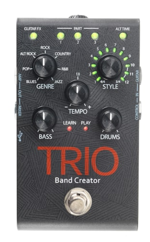 2017 DIGITECH TRIO BAND CREATOR PEDAL