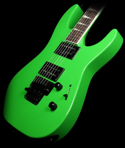 Jackson Used Jackson SLX Electric Guitar Slime Green