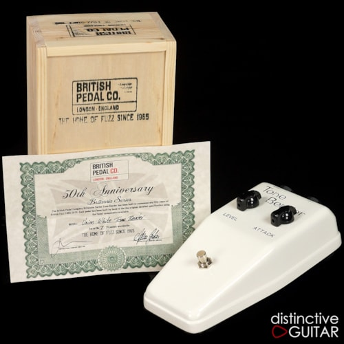 British Pedal Company Limited Edition Brittania Series OC75 MKII Tone Bender