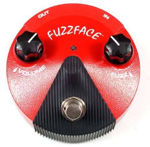 2017 Dunlop FFM2 GERMANIUM FUZZ FACE MINI DISTORTION PEDAL