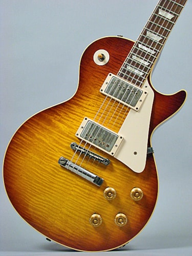 2009 Gibson Les Paul R9, Billy Gibbons Pearly Gates VOS