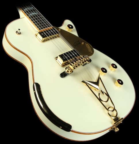 Gretsch® Custom Shop Masterbuilt Stephen Stern  '57 Penguin Electric Guitar Vintage White