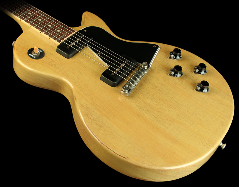 Murphy Visa Card >> Gibson 2007 Gibson Custom Murphy Aged '60 Les Paul Special Electric Guitar TV Yellow > Guitars ...