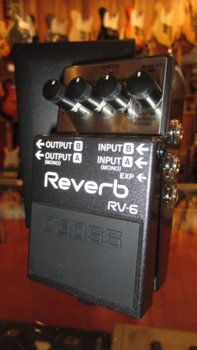 2015 Boss RV-6 Reverb