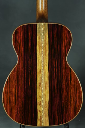 Bourgeois OM Wood Deluxe - Bearclaw Italian Spruce/Cocobolo